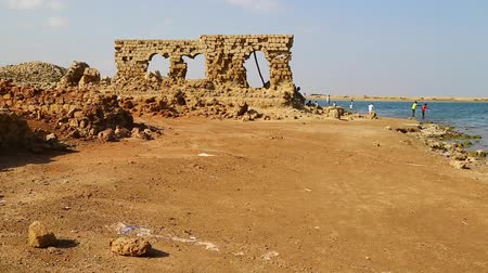 grawerowanie : in africa sudan suakin the antique ottoman heritage near the city of port sudan
