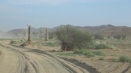kumul : in south africa the street in the nubian desert concept of wild and adventure