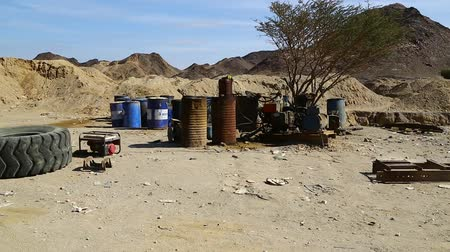 slum house : in sudan africa  the nubian desert concept of wild and adventure