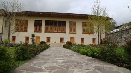 khan : in azerbaijan sheki the old architecture in the town protect by unesco