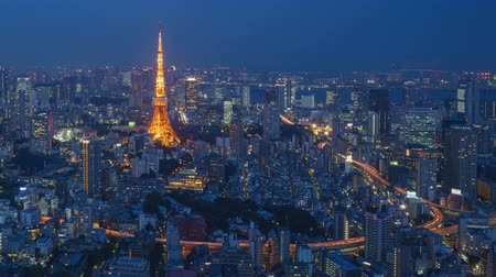 tokio : 4K Day to Night Timelapse of Tokyo city, Japan