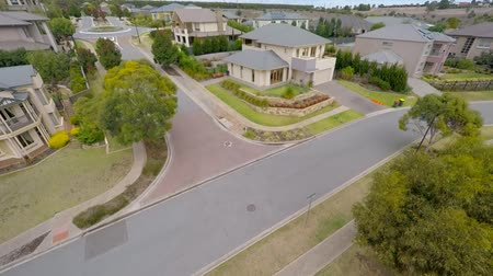 ausztrál : aerial view of a suburb in south Australia