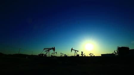 crude : The oil pump, industrial equipment
