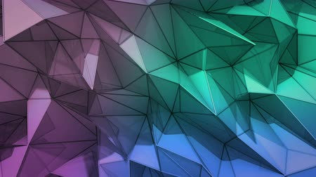 оказывать : Polygonal abstract surface. Semless loop 3D render