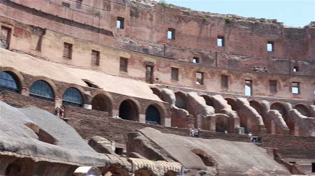 colloseum : ROME - ITALY, June 29 2017: people inside of Colosseum