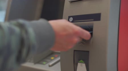 bankomat : Credit card entry to the ATM