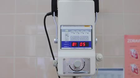 индикатор : Digital display of retngen equipment X-ray in vet