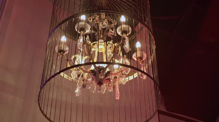 csillár : Luxury modern lamp chandelier indoors