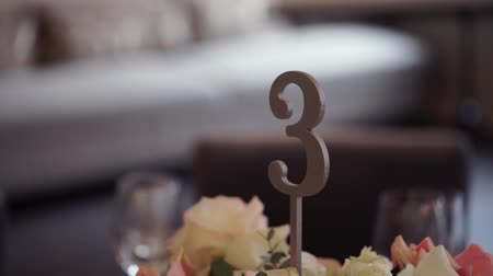 gênero alimentício : Wedding table in restaurant decoration number 3