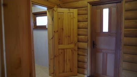 sedir : Sauna interior - Relax in a hot sauna in wooden house