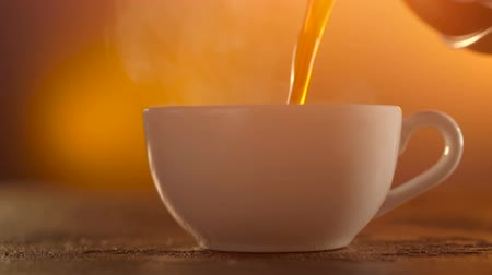 caffe : Coffee or Tea. whiteCup of hot beverage with Steam