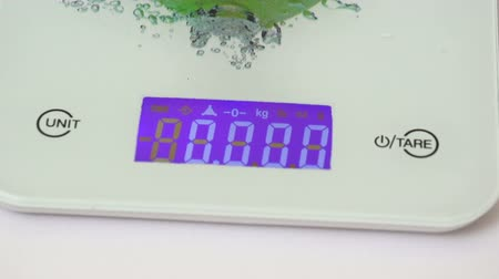 quilograma : Kitchen scales electrons 2