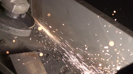 partitions : Work grinding wheel. Largly 8 Stock Footage