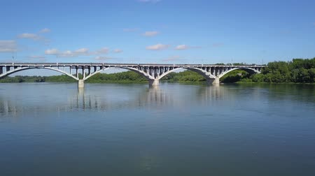 monumentális : Bridge over a wide river 3