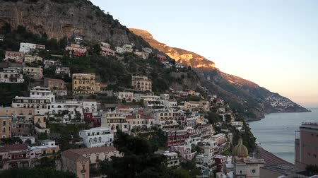 приморский : Scenes of the Italian coastal town Positano.