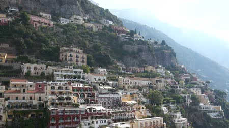 falu : Scenes of the Italian coastal town Positano.