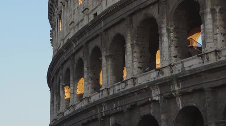 flavium : Various angles of the roman Colosseum or Flavian Amphitheatre.
