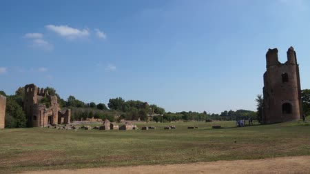 wyscigi : Ruins of the Circus of Maxentius
