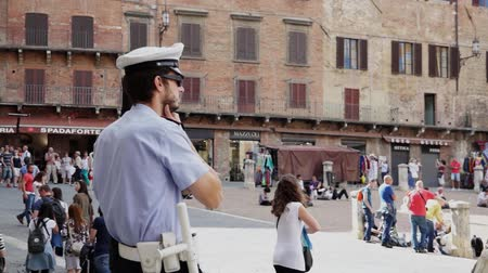 renesans : Scenes from Siena Italy Wideo
