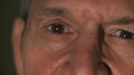 humanidade : Close up shot of a male in his 60??s