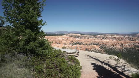 korumak : Dramatic Scenes from Bryce Canyon National Park Stok Video