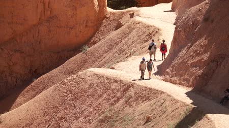 pedregulho : Dramatic Scenes from Bryce Canyon National Park Stock Footage