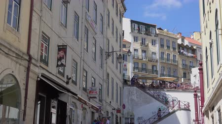 portugese : Typical scene for visitors to Lisbon Portugal.