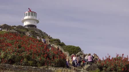 garden route : Scene as tourists vist the Cape of Good Hope lighthouse