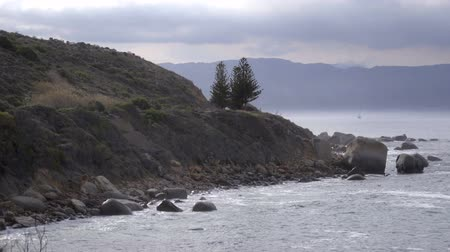 View of the shoreline along the Cape of Good Hope
