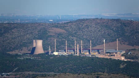 evacuated : View of the Pelindaba nuclear research facility