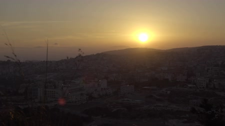 luke : Scene of Nazareth from hill of the Precipice at sunset