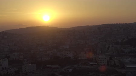 luke : Gorgeous sunset view of Nazareth from hill of the Precipice