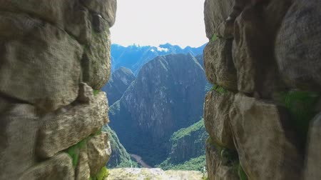 Перу : A view from the ancient city of the Incas, Machu Picchu, Peru