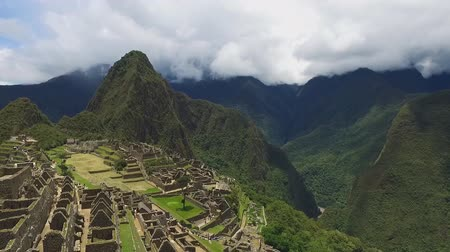 перуанский : A view of the ancient city of the Incas, Machu Picchu, Peru
