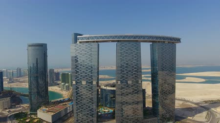 The Gate Towers skysraper on Al Reem Island in Abu Dhabi City.