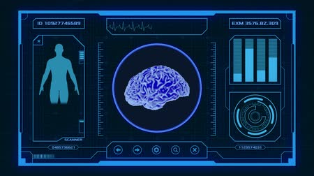 futuristic interface for medical and scientific purposes - human brain scanner