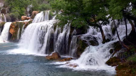 táj : Waterfall in Krka National Park  is one of the Croatian nature River