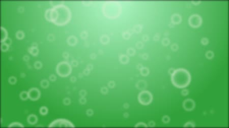 bright bubble : background with green bubbles