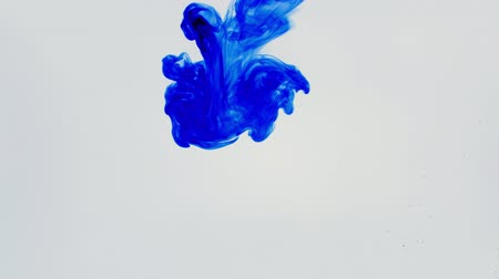 dissolução : ink dissolved in water