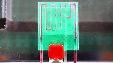 mikroszkopikus : A lab-on-a-chip (LOC) is integration device with several laboratory functions