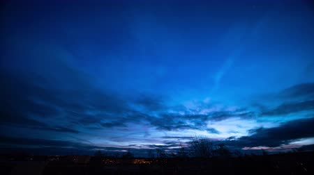 The sky at dawn, sunrise early morning, time lapse
