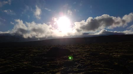 neverending : Timelapse from an Icelandic landscape at the fimmvodruhals hiking route