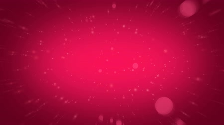 crimson : Animated particles in pink color. Looped Valentine magenta bokeh background Stock Footage