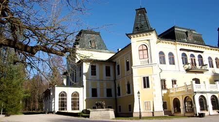 konak : Manor-House Betliar, Slovakia. Housed in a former hunting palace of the Andrássy family (national monument), which is situated in a large romantic park in Betliar. mansion was one of several noble houses of the family until 1945