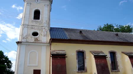 evangelical : Evangelical church from 1792 in the classical style, in Dlha Ves, district Roznava, Slovakia