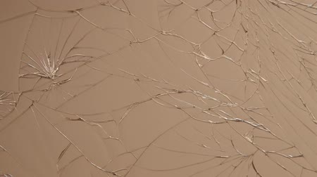 csattanás : Broken glass on the mobile as a background