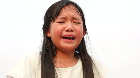 evcil : Beautiful asian girl crying