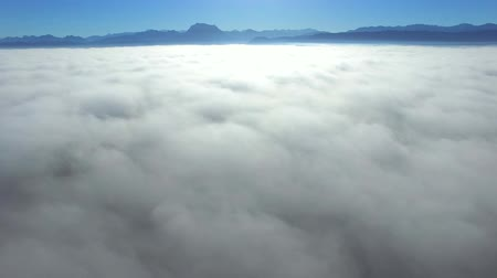 брезент : Aerial sky and clouds background