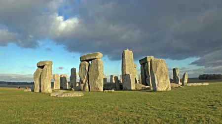 equinox : Clouds moving over Stonehenge