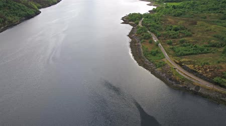 felvidéki : Flying over Loch Leven towards Glencoe, Lochaber